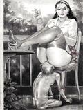 scat slave for mistress