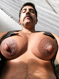 Sebastian Rio's big tits