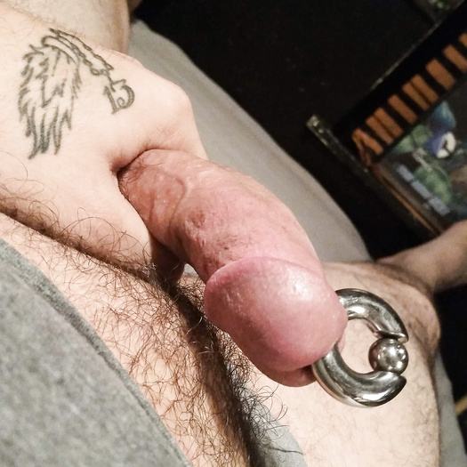 Stretched dick