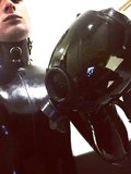 ME IN BLACK RUBBER