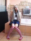 Shimakaze costume crossdresser