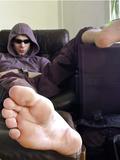 big male feet and dick