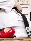 Karate fetish