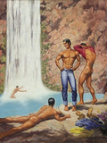 George Quaintance, American Artist, worked prior to Tom of Finland