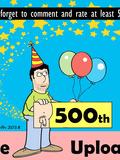 500 Uploads