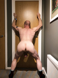 Me with my arse in the air