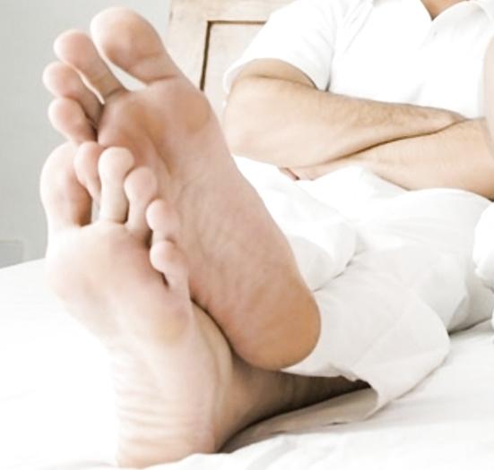 Feet men